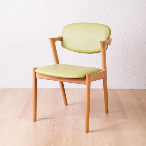 【AS】西瑪瓦利宫崎椅-褐果綠