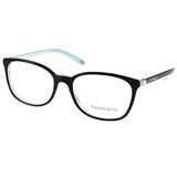 Tiffany&CO.眼鏡 頂級精品優雅珍珠款 (黑-流線水藍) # TF2109HB 8193