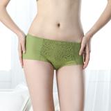 【SWEAR】撩波系列M-XL蕾絲平口內褲-翠綠石