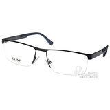 HUGO BOSS 光學眼鏡 HB0734 KCR (棕) 簡約經典流線款 # 金橘眼鏡