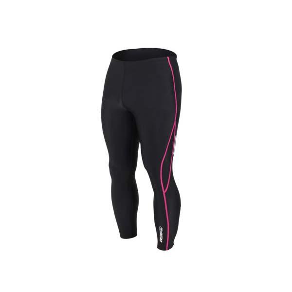 (男女) INSTAR 起點 緊身長褲-台灣製 慢跑緊身褲 路跑 籃球內搭褲 黑桃紅