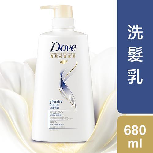 多芬深層修護洗髮乳680ml