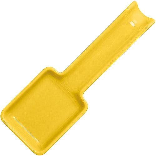 ~EXCELSA~Trendy陶製匙型鏟匙架 黃27cm