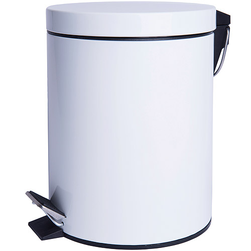 ~EXCELSA~Cleany腳踏式垃圾桶 白5L