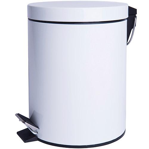 《EXCELSA》Cleany腳踏式垃圾桶(白12L)