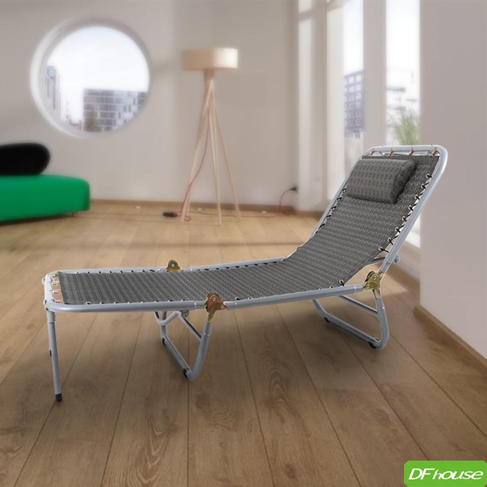 ~DFhouse~ 好康!五段式三折休閒躺椅 休閒椅 折疊椅 涼椅 透氣  免組裝.