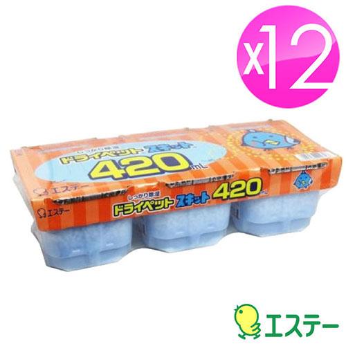 ST雞仔牌 除濕盒(420ml x 3入)x12盒 ST-909728