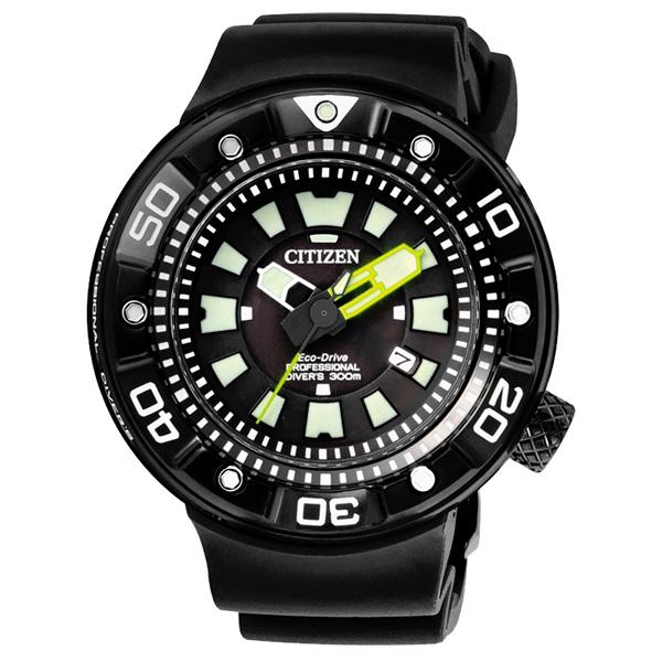 CITIZEN Eco-Drive  航海戰艦日期腕錶-BN0177-05E