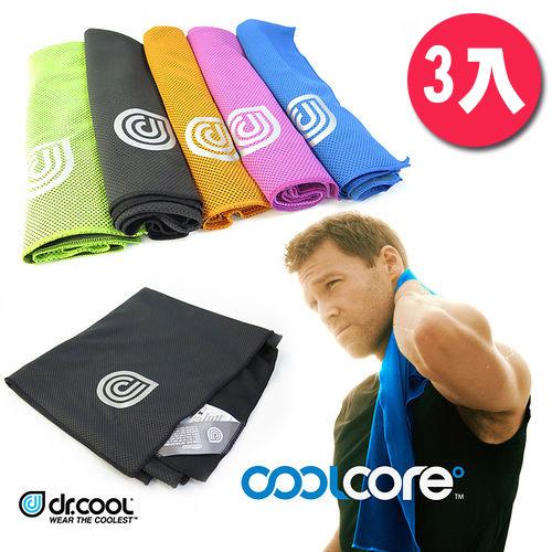 (團購) COOLCORE Chill Sport涼感運動巾-(3入組)
