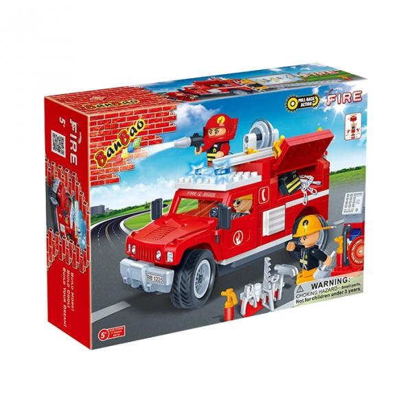 【BanBao 積木】消防系列-捍馬救援車 8316