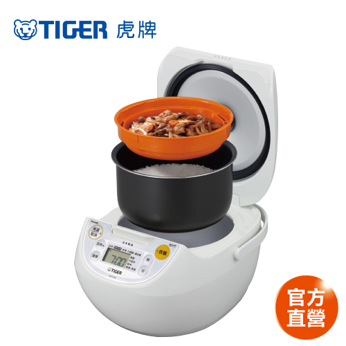 【 TIGER 虎牌】日本製_10人份微電腦炊飯電子鍋(JBV-S18R)買就送料理專用食譜