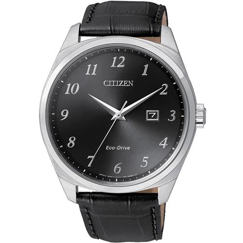 星辰 CITIZEN Eco-Drive 光動能紳士時尚腕錶  BM7320-01E