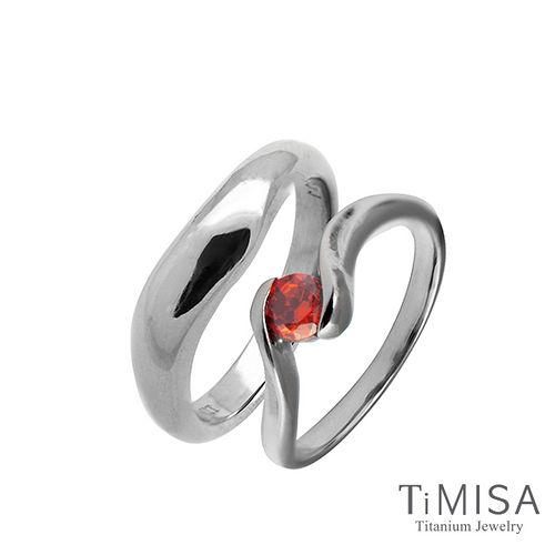 【TiMISA】美好心情(4色可選) 純鈦對戒