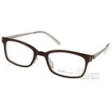 VYCOZ光學眼鏡 完美工藝簡約款(棕-銀) #KALY BRN-TITAN-G