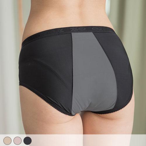 【玉如內褲】柔滑包覆生理褲。竹炭-生理褲-透氣-MC-抗菌-中高腰- MIT-台灣製。※K036