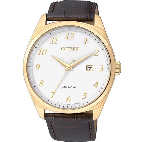 星辰 CITIZEN Eco-Drive 光動能紳士時尚腕錶  BM7322-06A