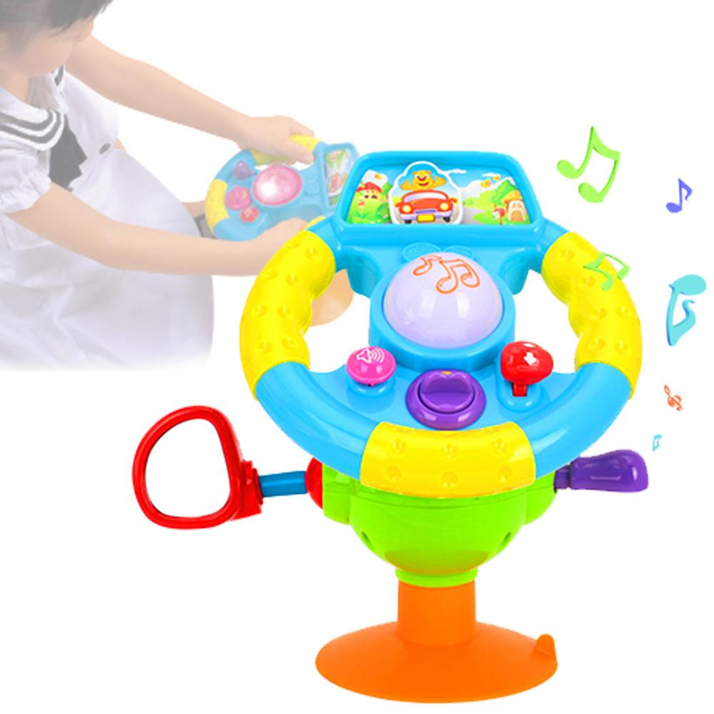 【FunKids】仿真方向盤趣味聲光玩具
