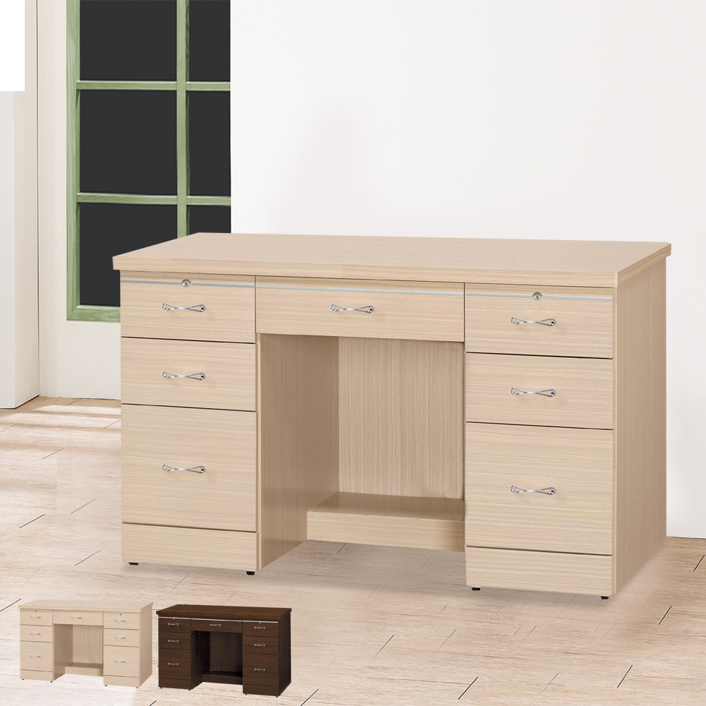 HAPPYHOME 森永4尺書桌UZ6-300-10可選色