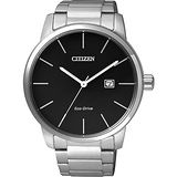 CITIZEN Eco-Drive光動能都會腕錶-黑/43.8mm BM6960-56E