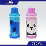 (買一送一)MY WATER 淘氣貓熊無尾熊保溫瓶 750ml
