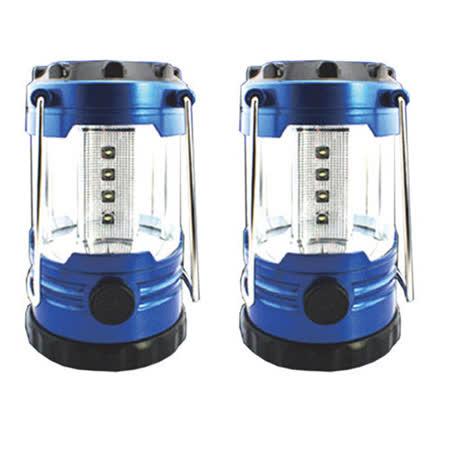 12顆LED 迷你露營燈2入