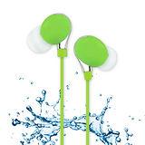【活力揚邑】IPX4防水重低音立體聲可調音管後掛入耳式3.5mm通用運動耳機-多色可選