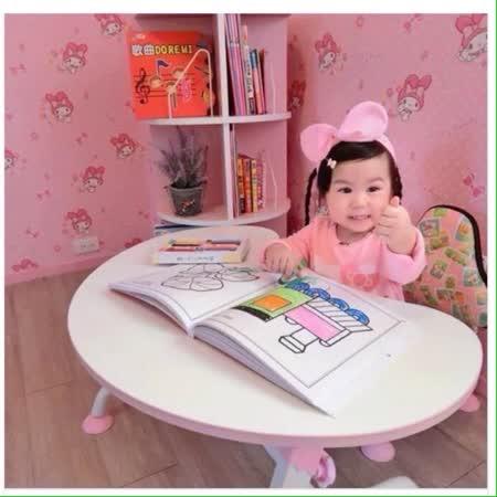 第一博士 月亮兒童書桌椅組
