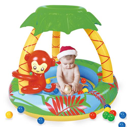 寶貝樂 猴子嬰兒水池/游泳池