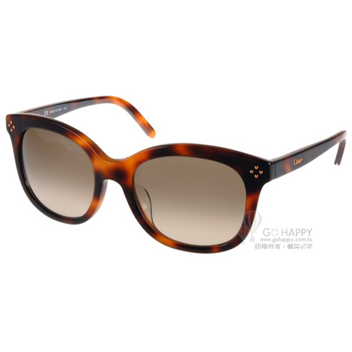 Chloe太陽眼鏡 時尚魅力名媛款(琥珀) #CL669SA 219