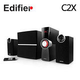 EDIFIER 漫步者 C2X 三件式高質感多媒體喇叭