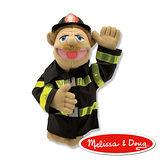 美國瑪莉莎 Melissa & Doug 手偶 - 消防員
