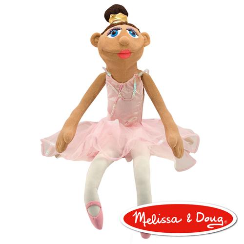 美國瑪莉莎 Melissa & Doug 手偶 - 芭蕾舞者