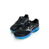 MIZUNO 美津濃 男鞋 支撐型超寬楦慢跑鞋 黑/銀J1GC164552