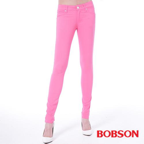 BOBSON  女款低腰彩色涼爽紗緊身褲 (8130-10)