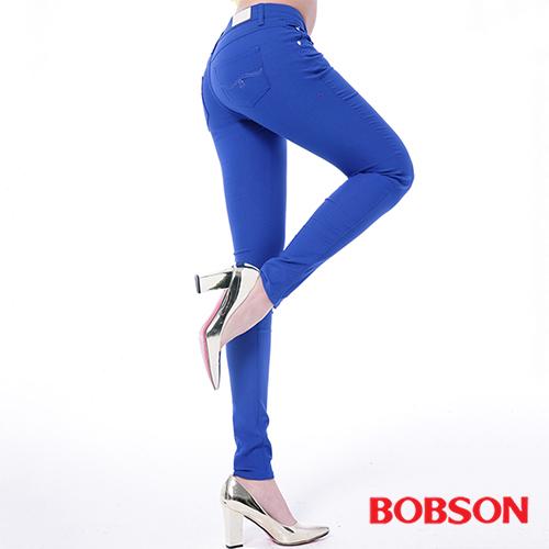 BOBSON  女款低腰彩色涼爽紗緊身褲 (8130-50)