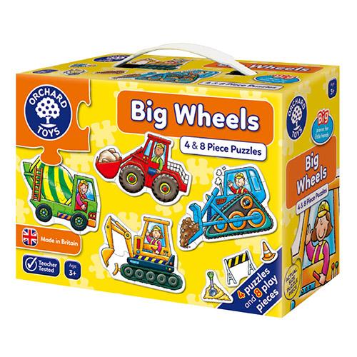 【英國Orchard Toys】第一組拼圖-工程車