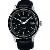 SEIKO 6R15-23石都會機械腕錶-黑/41mm 6R15-02V0A(SARG017J)