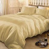 RODERLY 黃金夢-絲緞 雙人四件式被套床包組