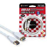 MAGIC USB3.0 A公 對 A母 超高速扁平延長線(24K鍍金)-1.8米