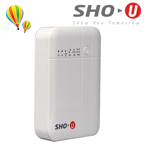 SHO-U 育鴻 雙向 QC 2.0 WB-6301 酷電快充 12000mAh 雙USB 認證行動電源 / 具 Type-C 輸出 / 台灣製