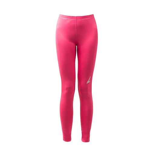 AIRWALK(女)- 城市系列運動舒適緊身長褲-桃紅