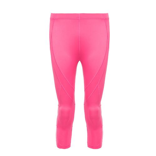 AIRWALK(女)- 城市系列運動舒適緊身七分褲-桃紅