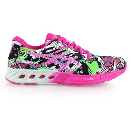 (女) ASICS FUZEX慢跑鞋 - 路跑 健身 亞瑟士 螢光粉綠