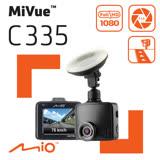 Mio MiVue™ C335 GPS+測速 F2.0大光圈 行車記錄器《高C/P值 送32G+汽車椅背掛勾+吸盤救星》