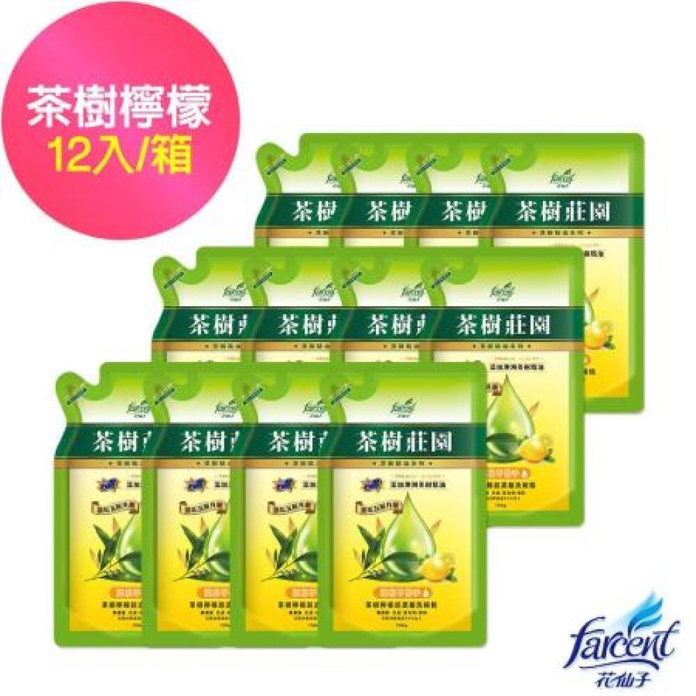 【茶樹莊園】茶樹檸檬超濃縮洗碗精補充包-700g(12入/箱~箱購)