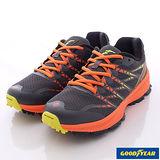 GOODYEAR戶外鞋-輕量競速鞋(GAMR53183灰桔-男段-26-28cm)