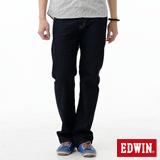 EDWIN 大尺碼 503ZERO中直筒牛仔褲-男-原藍色