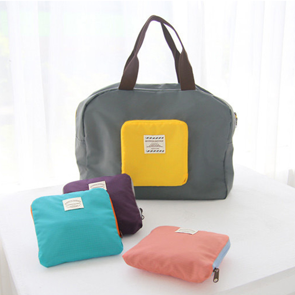 ~OUTBOUND~韓系~便利環保可摺疊 袋 媽媽包 旅行收納袋 行李袋 共4色