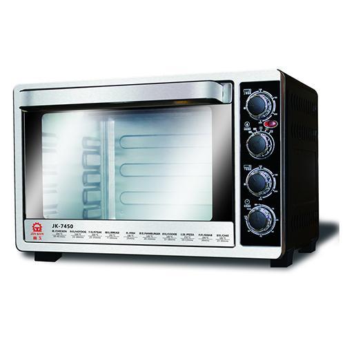 晶工45L雙溫控旋風電烤箱JK-7450