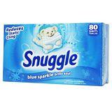 美國進口Snuggle 烘衣柔軟片 80張